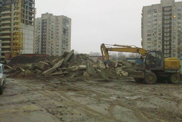 ЗАО «УНР-18» (Пулковское шоссе, д. 30, инженерная подготовка территории, разработка котлована)