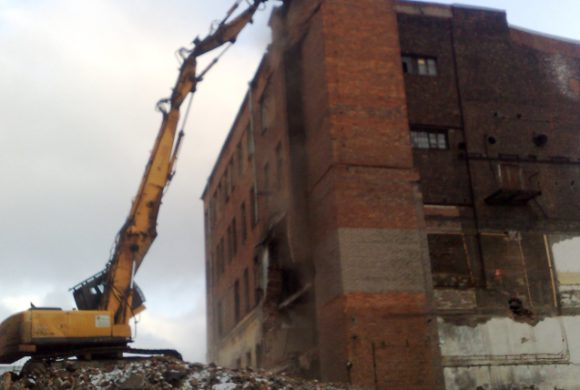 ОАО «Ладога» (12-я Красноармейская, д. 26, разборка аварийных зданий)