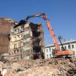 Группа компаний Унисто-Петросталь (снос комплекса зданий, ул. Сытнинская, д. 9-11)