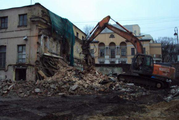 NCC (наб. реки Карповки д. 27, демонтаж аварийных конструкций)
