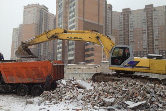 ЗАО «Мегалит» (Коломяжский проспект д.13, снос зданий автомастерских)