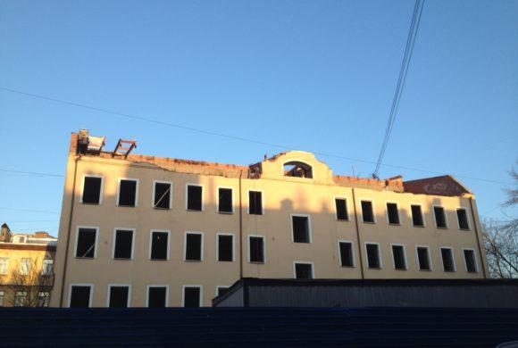 Снос исторического здания (ул. Лодыгина, д. За)