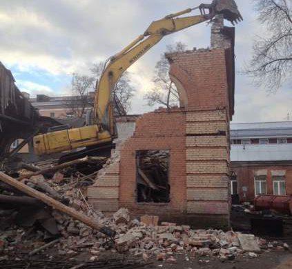 ООО «Сотэкс» (ул. Литовская д. 1. к. 3 лит. Б, разборка здания, находившегося в состоянии необратимой аварийности)