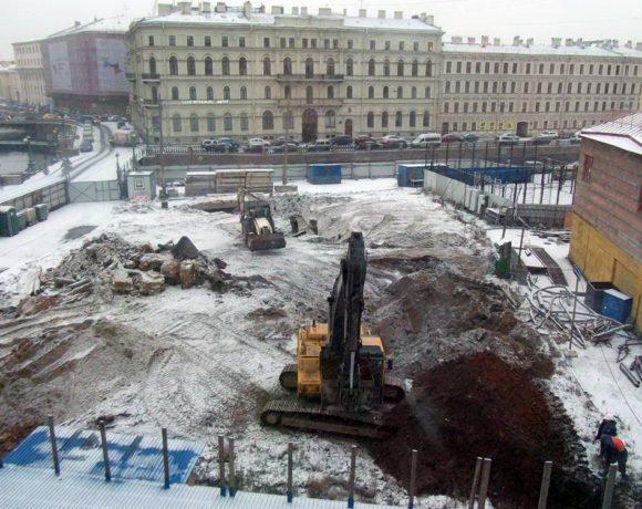 ЗАО «Геострой» (наб. реки Мойки, д. 102 лит. А, работы по вывозу грунта и строительных отходов)