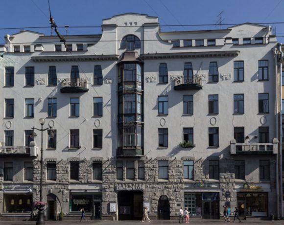 Невский пр., д. 72 (работы по реставрации и усилению конструкций исторического здания)